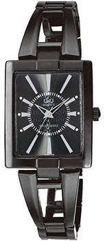 Японские наручные  женские часы Q&Q F355J412Y. Коллекция Elegant