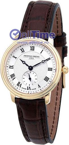 Женские наручные швейцарские часы в коллекции Slim Line Frederique Constant