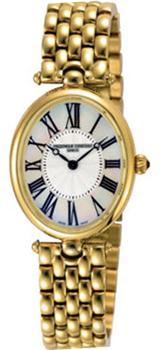 Швейцарские наручные  женские часы Frederique Constant FC200MPW2V5B. Коллекция Art Deco Collection