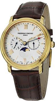 Швейцарские наручные  мужские часы Frederique Constant FC270SW4P5. Коллекция Classics