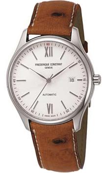 Швейцарские наручные  мужские часы Frederique Constant FC303WN5B6OS. Коллекция Classics