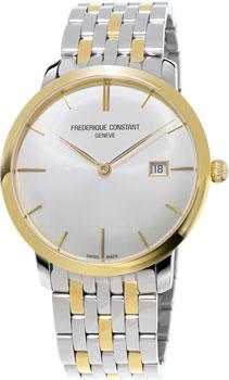 Швейцарские наручные  мужские часы Frederique Constant FC306V4S3B2. Коллекция Slim Line Automatic