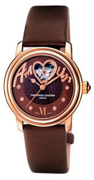 Швейцарские наручные  женские часы Frederique Constant FC310CSQ2PD4. Коллекция Ladies Automatic