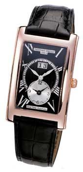 Швейцарские наручные  мужские часы Frederique Constant FC325BS4C24. Коллекция Carree Collection