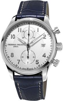 Швейцарские наручные  мужские часы Frederique Constant FC393RM5B6. Коллекция Runabout