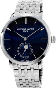 Швейцарские наручные  мужские часы Frederique Constant FC705N4S6B. Коллекция Manufacture