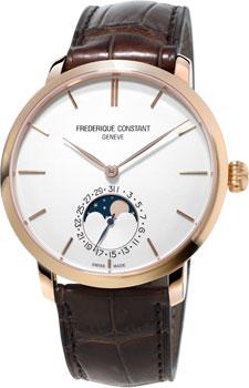 Швейцарские наручные  мужские часы Frederique Constant FC705V4S4. Коллекция Manufacture