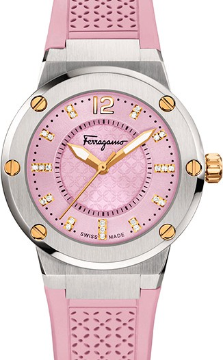 Женские наручные швейцарские часы в коллекции F-80 Salvatore Ferragamo