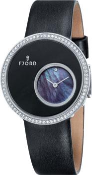 fashion наручные  женские часы Fjord FJ-6001-01. Коллекция HELGA