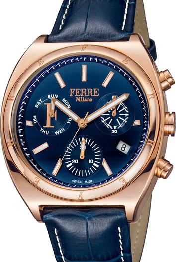 Мужские наручные fashion часы в коллекции Franco Chronografo Ferre Milano