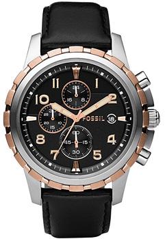 fashion наручные  мужские часы Fossil FS4545. Коллекция Dean
