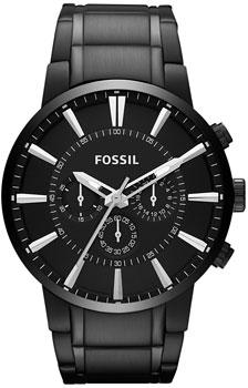 fashion наручные  мужские часы Fossil FS4778. Коллекция Chronograph