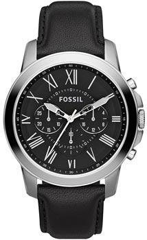fashion наручные  мужские часы Fossil FS4812. Коллекция Grant