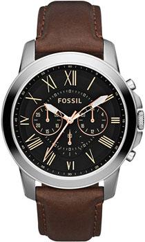 fashion наручные  мужские часы Fossil FS4813. Коллекция Grant