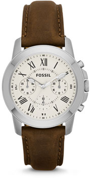 fashion наручные  мужские часы Fossil FS4839. Коллекция Grant