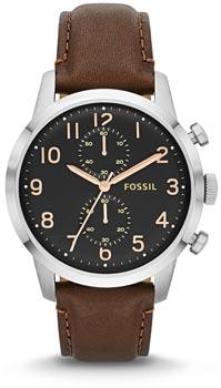 fashion наручные  мужские часы Fossil FS4873. Коллекция Townsman