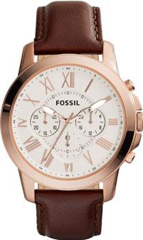 fashion наручные  мужские часы Fossil FS4991. Коллекция Grant