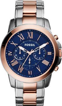 fashion наручные  мужские часы Fossil FS5024. Коллекция Grant