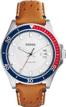 fashion наручные  мужские часы Fossil FS5054. Коллекция Wakefield