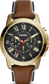 fashion наручные  мужские часы Fossil FS5062. Коллекция Grant