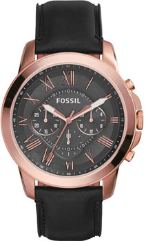 fashion наручные  мужские часы Fossil FS5085. Коллекция Grant
