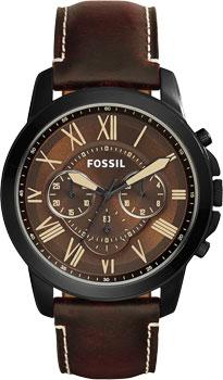 fashion наручные  мужские часы Fossil FS5088. Коллекция Grant