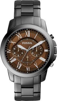 fashion наручные  мужские часы Fossil FS5090. Коллекция Grant