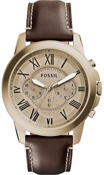 fashion наручные  мужские часы Fossil FS5107. Коллекция Grant
