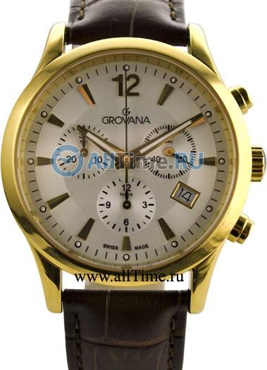 Мужские наручные швейцарские часы в коллекции Chrono Grovana