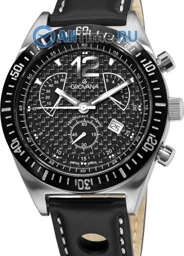 Мужские наручные швейцарские часы в коллекции Sporty Grovana