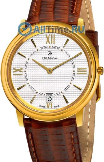 Мужские наручные швейцарские часы в коллекции Tradition Grovana