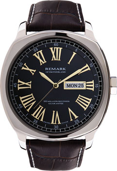 Швейцарские наручные  мужские часы Remark GR402.05.14. Коллекция Mens collection