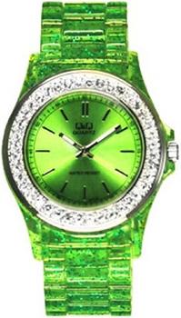 Японские наручные  женские часы Q&Q GS07J262. Коллекция Sports