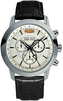 Швейцарские наручные  мужские часы Taller GT111.1.024.01.4. Коллекция Aurora