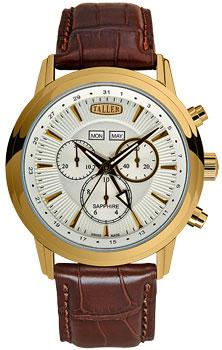 Швейцарские наручные  мужские часы Taller GT111.2.022.02.4. Коллекция Aurora