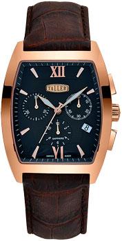 Швейцарские наручные  мужские часы Taller GT123.3.053.02.4. Коллекция Excellent