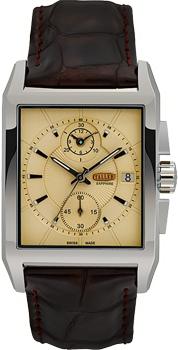Швейцарские наручные  мужские часы Taller GT174.1.031.02.4. Коллекция Premier