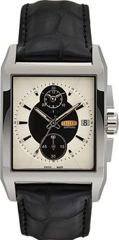 Швейцарские наручные  мужские часы Taller GT174.1.101.01.4. Коллекция Premier