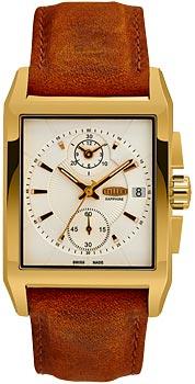 Швейцарские наручные  мужские часы Taller GT174.2.022.02.4. Коллекция Premier