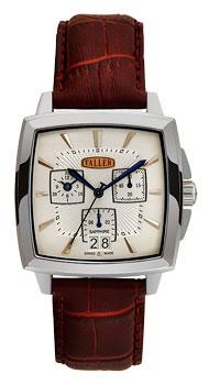 Швейцарские наручные  мужские часы Taller GT190.1.024.02.3. Коллекция Famous