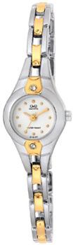 Японские наручные  женские часы Q&Q GT49401Y. Коллекция Elegant