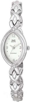 Японские наручные  женские часы Q&Q GT55204Y. Коллекция Elegant