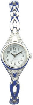 Японские наручные  женские часы Q&Q GT67204Y. Коллекция Elegant