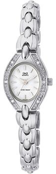 Японские наручные  женские часы Q&Q GT79201Y. Коллекция Elegant