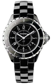 Швейцарские наручные  женские часы Chanel H0682