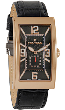 Швейцарские наручные  мужские часы Helveco H07141NA. Коллекция Bienne