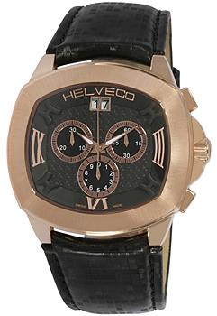 Швейцарские наручные  мужские часы Helveco H10141NNR. Коллекция Locarno
