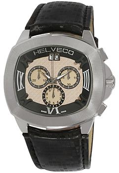 Швейцарские наручные  мужские часы Helveco H10641NIR. Коллекция Locarno