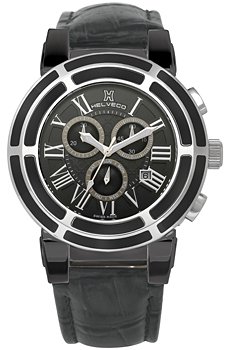 Швейцарские наручные  мужские часы Helveco H178641NNR. Коллекция Wheel Crown