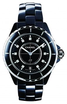 Швейцарские наручные  женские часы Chanel H2124